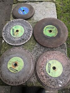 16 X Used Stone and Metal Cutting Discs 300 x 3.5 x 20, grinding DIY tools