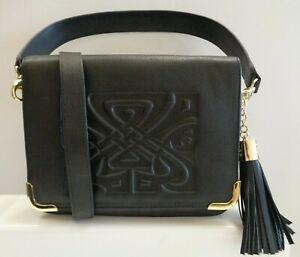 Biba Leather Gretal Cross Body Bag Ladies REF BAG450^