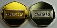 Pair of OASIS '(WHAT'S THE STORY) MORNING GLORY.?' Coins 50p Collectors