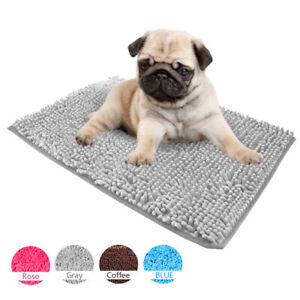 Anti-Slip Dog Blanket for Small Medium Dogs Winter Warm Bed Mat Kennel Cushion