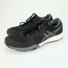 Asics Weldon X Training Running Shoes Womens Size 7.5 Black/Carbon pl5