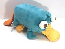 """PERRY The Platypus Plush 19"""" TALKING Phineas & Ferb Disney Store Doll Toy"""