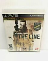 Sony PlayStation 3 Spec Ops:The Line Premium Edition Complete  Free S&H