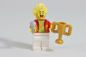 LEGO® City Minifigure Monster Jam Trophy Presentation Host with Mic & Trophy