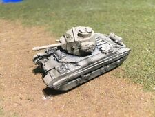 "1/100th (15mm) WWII British Painted Matilda II Infantry Tank A-12 ""Frog""  Model"