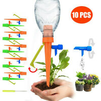 10pcs Plant Self Watering Adjustable Stakes Automatic Spikes Irrigation System