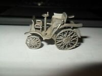DANBURY MINT CLASSIC 1898 MERCEDES BENZ 3.5  PEWTER COLLECTIBLE CAR PRE-OWNED