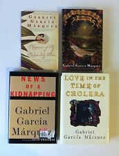 Lot 4 Gabriel García Márquez Books_News of Kidnapping, Love in Time of Cholera
