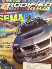 Modified Mag Magazine Sema Nia AMS Evo February 2006 020418nonrh