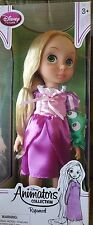 """Rapunzel  Doll Tangled 16"""" Authentic Disney Store Animators Collection Open Box"""