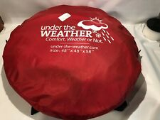 Under the Weather Pod XL Red