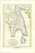 More details for 1817 original antique map laconia island of cythera  ancient greece (17)