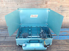 Very Cool Vintage Western Field by Hawthorne 2 Burner Stove Rinnais Japan