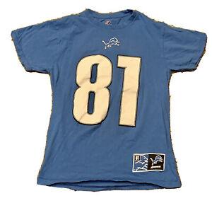 Detroit Lions — Calvin Johnson Jersey Shirt #81 — Size Men's Small