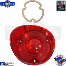 72 Chevelle Taillight Tail Light Lamp Lens with GASKET - Made in USA - LH