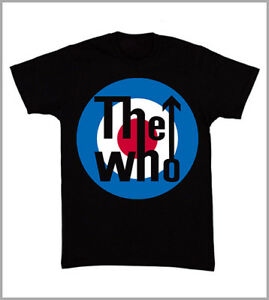 T-SHIRT UOMO THE WHO MUSICA ROCK AND ROLL HARD ROCK PUNK GEN0577N
