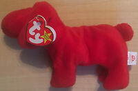 Ty Beanie Babies 1996 Rover the Dog With Tags PVC Pellets
