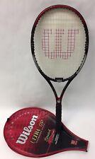 Wilson Ultra + OS Series PWS Stretch Tennis Racket Racquet Oversize Plus 4 1/4