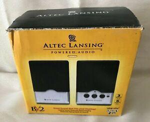Altec Stereo BX2 Powered Computer Speakers Game,Tablet,Laptop,Desktop (C12)