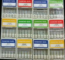 500* Dental Diamond Burs Drills Medium FG1.6M for High Speed Handpiece Dentista