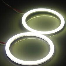 60MM COB Car LED Angel Eyes Lamp Width/Fog White Light Ring DC 12/24V Waterproof