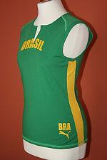 PUMA Brasil Top Brasilien Fußball Gr. M / L 38 grün