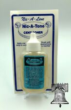 Nic A Tone Penny Cent Toner Magic Clean Acid Bottle Cleaner for Pennies 1.25oz