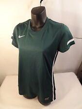 Nike Girls Soccer Federation Jersey Green Large Girls 413183-371 Top Shirt