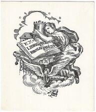 ANTONIN KUBAT: Exlibris für Jaroslav Mrazek