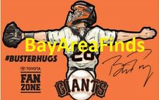 San Francisco Giants Buster Posey Hugs Blanket 6/9/2017 SGA not mug bobblehead