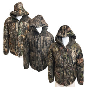 Mens REALTREE Camouflage Heavy Padded Waterproof Hunting Jacket Coat Shooting
