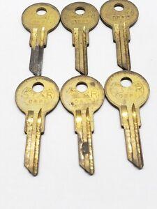 Star Brand key blanks, set of 6, OBRI BI 98M, locksmith