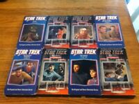 "Lot (8) VHS Tapes ""STAR TREK"" The Television Series Some Great Episodes!!"