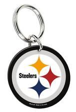 Pittsburgh Steelers Porte Clé Équipe Logo Acrylique Keyring, NFL football, NEUF