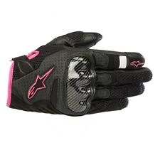 Alpinestars Stella Ladies SMX-1 AIR V2 Fuchsia/pink Short Women Motorcycle Glove