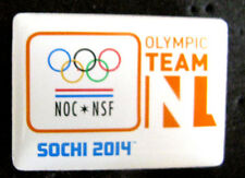 SOCHI 2014 WINTER Olympic NETHERLANDS NOC TEAM DELEGATION pin  rare