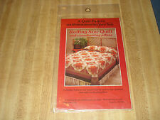 Beautiful Vintage Unopened Rolling Star Quilt Pattern by Yours Truly