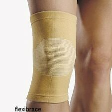 2 Knee Brace Support Elastic Sleeve Compression by Flexibrace