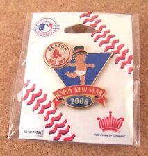 2006 Boston Red Sox Baby New Years lapel pin MLB