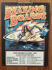 Blazing Boards Rick Griffin Vintage Surfing Surf Surfboard Movie Poster Sign