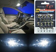Canbus Error LED Light 194 White 5000K Ten Bulbs Front Side Marker Replace JDM