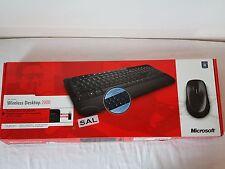 Microsoft Wireless Desktop 2000 Keyboard German/Deutsch QWERTY - M7J-00006