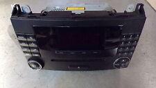 11804 DB7 2004-2012 W169 MERCEDES A150 STEREO CD PLAYER HEAD UNIT A1698700689