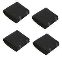 """HONEYWELL 38002 COMPATIBLE 16"""" X 48"""" X 1/4"""" ACTIVATED CARBON PRE-FILTER 4Pack"""