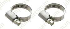 Narrow Band 9mm Steel Hose Clamp 16-28mm - Made in Germany Pack of 2   HC16-28/9