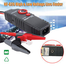 NOYAFA NF-820 High &Low Voltage Cable tester Underground Cable Finder BNC G0