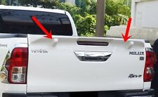 TOYOTA HILUX REVO 2015-16 TAILGATE REAR WHITE SPOILER CAN PAINT STANDARD COLOR