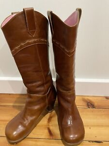 John Fluevog Argolo Brown boots 7.5