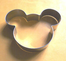 Mickey Mouse Cookie Cutter Party Pastry Fondant Candy Biscuit Baking Steel Mold