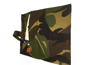 Field Sewing Kit Dutch Housewife With Needles Wool Thread Buttons DPM Camouflage